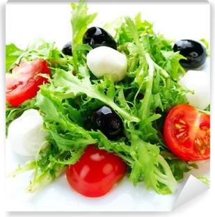 Salad with Mozzarella Cheese Self-Adhesive Wall Mural