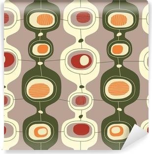 Seamless vintage pattern - Vector. Self-Adhesive Wall Mural