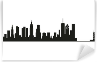 Skyline New York Self-Adhesive Wall Mural