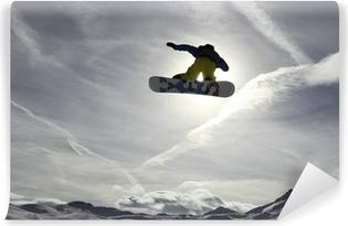 Snowboard Self-Adhesive Wall Mural