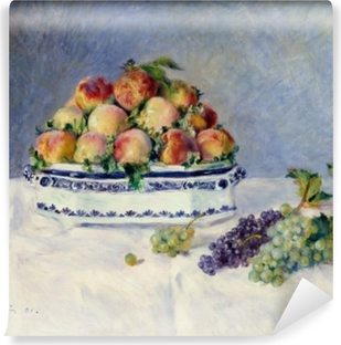 Still Life with Peaches Self-Adhesive Wall Mural