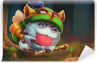 Teemo - League of Legends Self-Adhesive Wall Mural