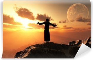 The priest. Self-Adhesive Wall Mural