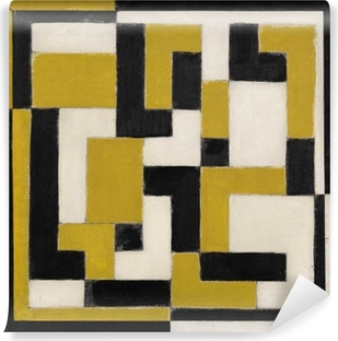 Theo van Doesburg - Composition Self-Adhesive Wall Mural