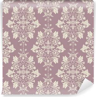 Vector classic wallpaper, damask background Self-Adhesive Wall Mural