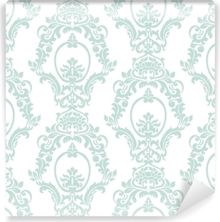 Vector Vintage Damask Pattern Ornament Imperial Style Ornate Floral Element For Fabric Textile