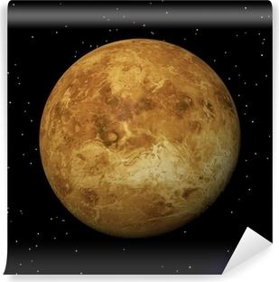 Venus planet at night - 3D render Self-Adhesive Wall Mural