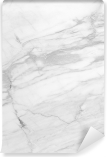 White Marble (High.Res.) Self-Adhesive Wall Mural