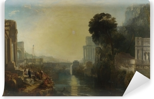 William Turner - The Decline of the Carthaginian Empire Self-Adhesive Wall Mural