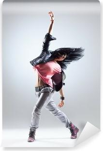 Danseren Selvklæbende fototapet