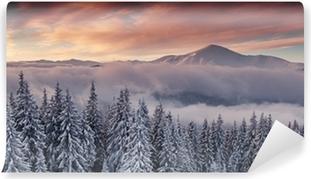 Mountain Selvklæbende fototapet