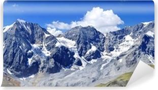 Südtiroler Dreigestirn - Ortler & Königspitze Selvklæbende fototapet