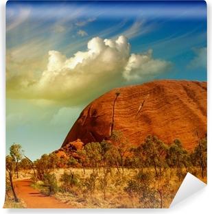 Wonderful Outback farver i den australske ørken Selvklæbende fototapet