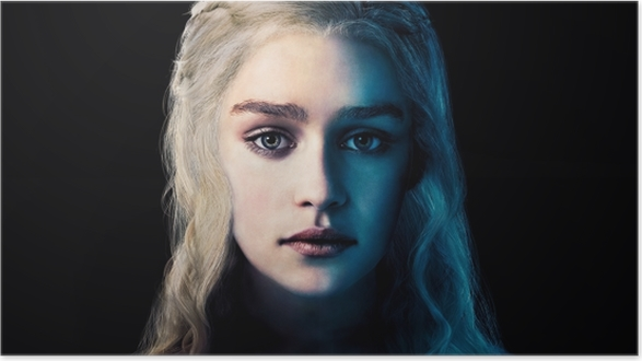 Daenerys Targaryen Selvklæbende plakat -