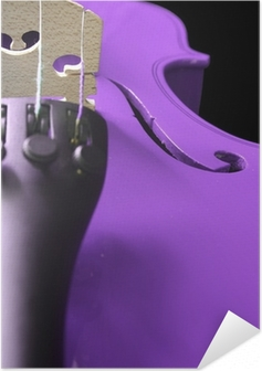 Lilla Violin Selvklæbende plakat
