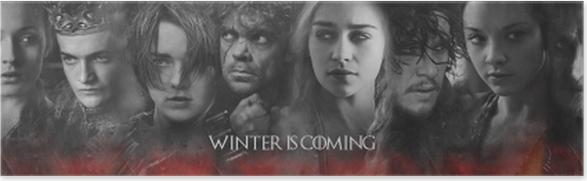 Spil af Thrones Selvklæbende plakat -