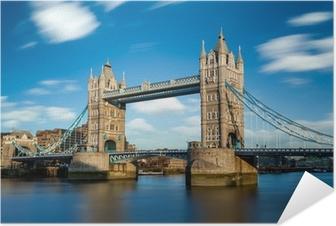 Tower Bridge Londres Angleterre Selvklæbende plakat