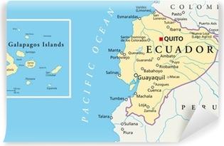 ecuador kart Plakat Ecuador og Galapagosøyene   Kart • Pixers®   Vi lever for  ecuador kart
