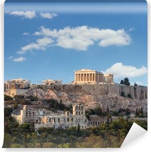 Selvklebende fototapet Parthenon, Akropolis - Athen, Hellas
