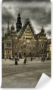 Selvklebende fototapet Wrocław-Rynek