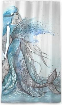 Mermaid Sheer Window Curtain