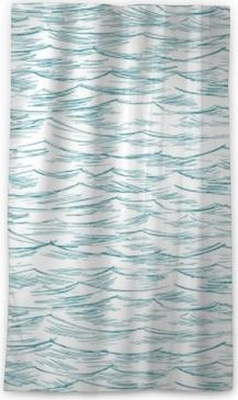 sea, ocean, seamless Sheer Window Curtain