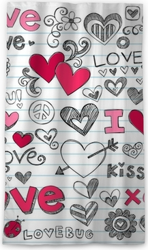 Valentine S Day Love Hearts Sketchy Doodle Vector Sheer Window Curtain Pixers We Live To Change This is a 0% downtime ratio for your immediate notice, hearts.vex.net was last checked on 11/03/2019 08:22 and you may want to. pixers
