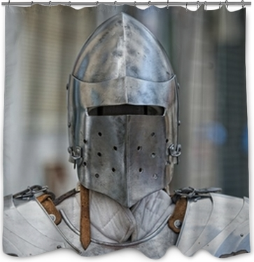Ancient Medieval Armor Shower Curtain