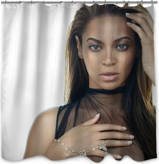 Beyonce Shower Curtain O PixersR We Live To Change