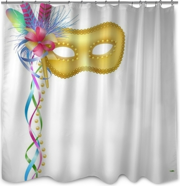 Carnival Mask MasqueradeMardi GrasJester Poster O PixersR We Live To Change