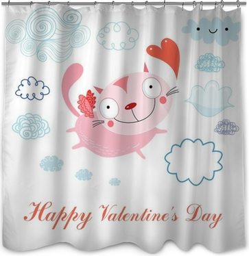 Love Shower Curtains • Pixers®