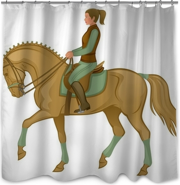 Horse Shower Curtain O PixersR We Live To Change
