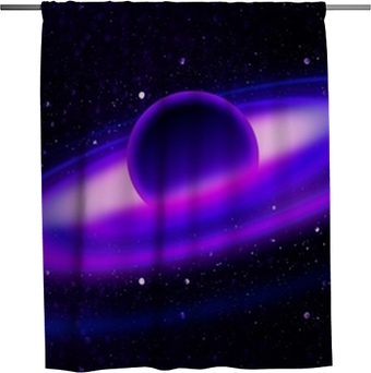 Seamless universe texture Shower Curtain • Pixers® - We live