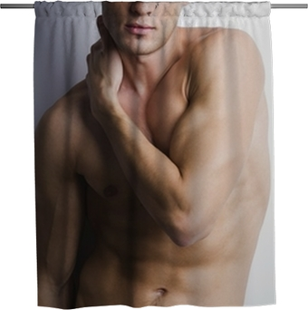 Sexy Guy Shower Curtain Pixers We Live To Change
