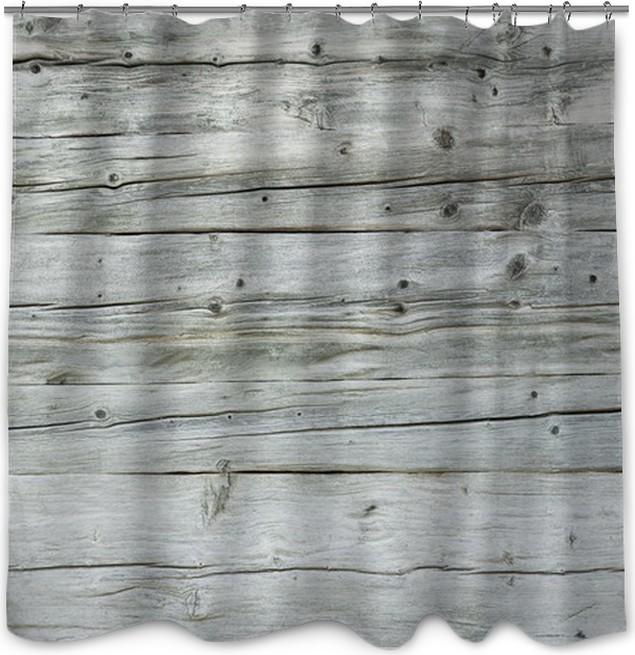 Holzfläche, Hintergrund, Grunge Style, Vintage, Bretter Shower Curtain
