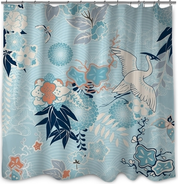 Japanese Shower Curtains - Peace and ballance in your interior • Pixers®