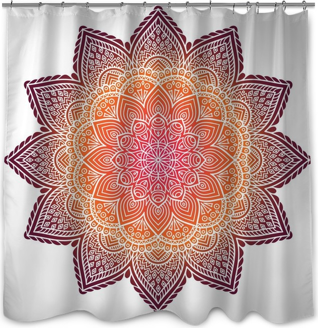 Mandala Shower Curtain O PixersR We Live To Change