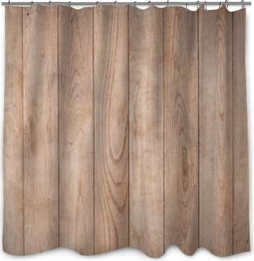 old wood background Shower Curtain