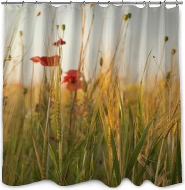 Watercolor vintage floral set. Shower Curtain • Pixers® • We live to ...
