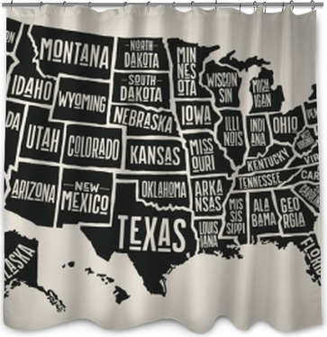 Flags And Maps Shower Curtains O PixersR