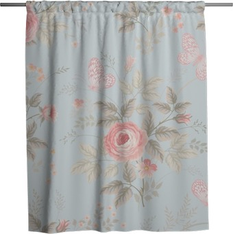 shabby chic shower curtains personalize your interior pixers we live to change