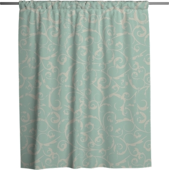 seamless vintage pattern Shower Curtain