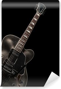 Självhäftande Fototapet Akustisk gitarr