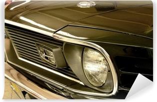 Självhäftande Fototapet Mustang