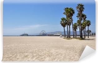 Självhäftande Fototapet Santa Monica Beach, Kalifornien, USA