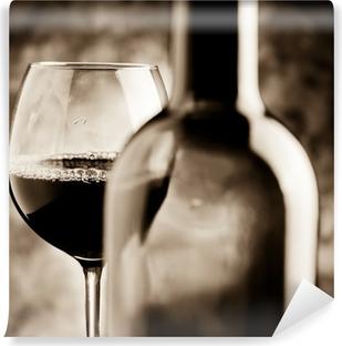Självhäftande Fototapet Vinprovning - vinprovning