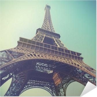 Självhäftande Poster Eiffeltornet