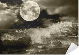 Självhäftande Poster Fullmåne