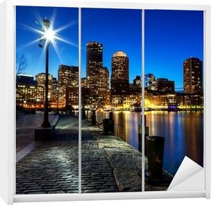 Skåpdekor Boston city FP543