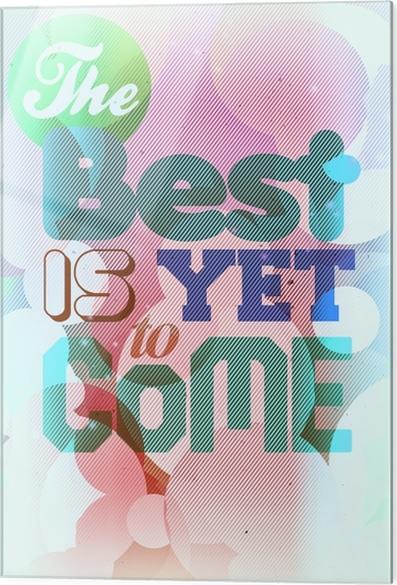 Skleněný obraz Motivační Plakát -